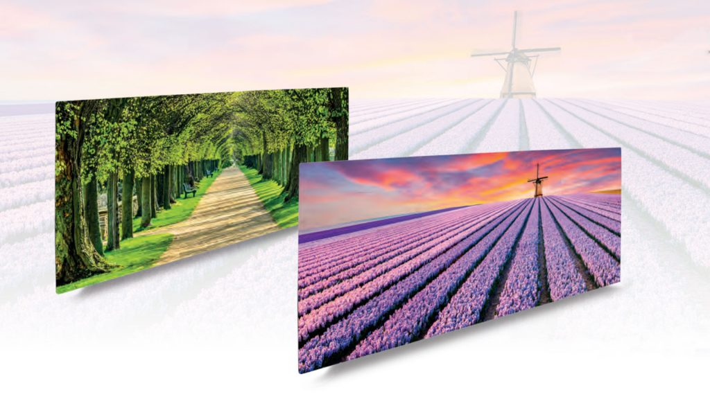 infrared heating with picture